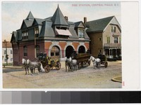 Fire station, Central Falls, Rhode Island, 1901-1907
