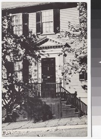 Doorway of a house, Providence, Rhode Island, 1939-1955