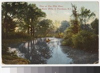 Ten Mile River, Hunts Mills, East Providence, Rhode Island, 1907