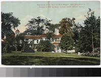 Residence of Dr. William Shaw Bowen, East Greenwich, Rhode Island, 1907-1914