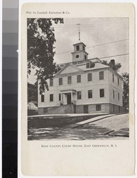 Kent County Court House, East Greenwich, Rhode Island, 1930-1950