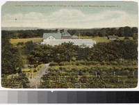 Ladd Laboratory and Greenhouse, Rhode Island College of Agriculture and Mechanic Arts, Kingston, Rhode Island, 1907-1909