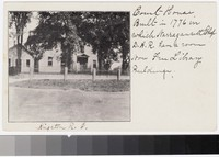 Court house, Kingston, Rhode Island, 1901-1907