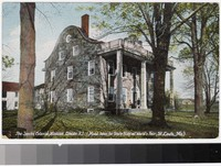 Jenks Colonial Mansion, Lincoln, Rhode Island, 1907-1914
