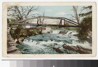 Bridge at Hunt's Mill, Providence, Rhode Island, 1901-1905