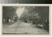 Mentor Ave. (looking west), Ohio, 1901-1907