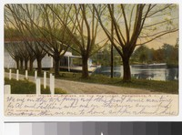 Boathouse at Rhodes, on the Pawtucket, Providence, Rhode Island, 1901-1907