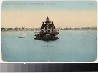 Bullock's Point Lighthouse, Narragansett Bay, Rhode Island, 1907-1910