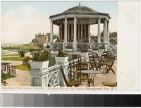 Bandstand, new casino grounds, Narragansett Pier, Rhode Island, 1901-1907