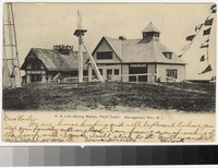 U.S. Life-saving station, Point Judith, Narragansett Pier, Rhode Island, 1901-1907