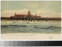 Bathing pavilion, Eastons Beach, Newport, Rhode Island, 1901-1907