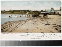 Bathing beach, Newport, Rhode Island, 1901-1906