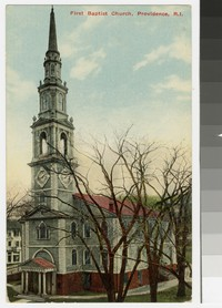 First Baptist Church, Providence, Rhode Island, 1907-1911