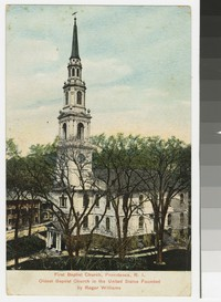 First Baptist Church, Providence, Rhode Island, 1907-1908