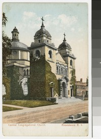 Central Congregational Church, Providence, Rhode Island, 1901-1907
