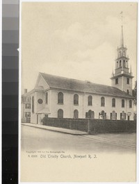 Old Trinity Church, Newport, Rhode Island, 1905