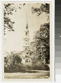 First Baptist Church, Providence, Rhode Island, 1939-1950