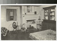 Kitchen at the birthplace of Thomas A. Edison, Milan, Ohio, 1930-1944