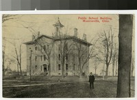 Public school building, Monroeville, Ohio, 1907-1914