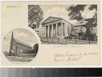 St. Mary's Church and St. Joseph's Church, Newport, Rhode Island, 1901-1907