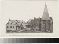 St. Andrew's Church and Parish House, Providence, Rhode Island, 1901-1907