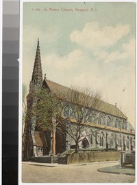 St. Mary's Church, Newport, Rhode Island, 1907-1914