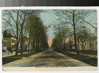 Gambier Street, residential section, Mt. Vernon, Ohio, 1907-1914