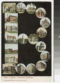 Brown University buildings, Providence, Rhode Island, 1901-1907