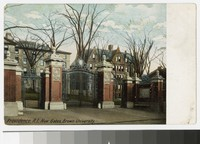New Gates at Brown University, Providence, Rhode Island, 1901-1905