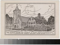 Clergy House and Church of Saint John the Evangelist, Washington Street, Newport, Rhode Island, 1930-1948