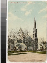 Channing Memorial Church, Newport, Rhode Island, 1907-1913
