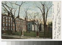 Front campus, Brown University, Providence, Rhode Island, 1901-1905
