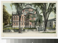 The library, Brown University, Providence, Rhode Island, 1915-1930