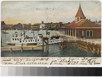 New Government Landing Station, Newport, Rhode Island, 1901-1907