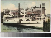 Excursion Boat, City of Newport, Rhode Island, 1907-1914
