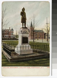 Collyer Monument, Collyer Park, Pawtucket, Rhode Island, 1901-1914