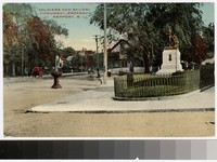 Soldiers and Sailors Monument, Broadway, Newport, Rhode Island, 1907-1914