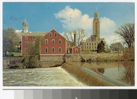 Slater Mill and City Hall, Pawtucket, Rhode Island, 1960-1984