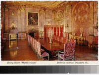 "Dining Room, ""Marble House"", Bellevue Avenue, Newport, Rhode Island, 1970-1981"
