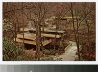 Overall view, Fallingwater, Pennsyvania, 1936