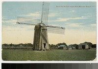 Old Windmill, Newport, Rhode Island, 1907-1914
