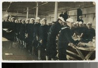 Scrubbing clothing at the naval training station, Newport, Rhode Island, 1907-1914