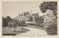 Residence of Mr. John T. Spencer, Newport, Rhode Island, 1915-1930