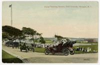 Drill grounds at the United States naval training station, Newport, Rhode Island, 1907-1914