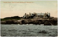 """Rough Point,"" W. B. Leed's Residence, Newport, Rhode Island, 1907-1911"