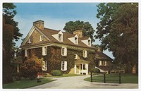 The Aududon Mansion, Audubon, Pennsylvania, circa 1939-2000