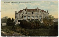 Residence of Commodore James, Newport, Rhode Island, 1907-1914