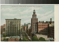 Madison St. from Hotel Madison, Toledo, Ohio, 1901-1907