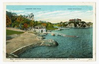 Boat Landing of Commodore James Estate and Marion Eppley Estate, Newport, Rhode Island, 1915-1930