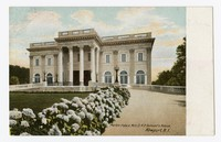 Marble Palace, Mrs. O.H.P. Belmont's House, Newport, Rhode Island, 1901-1907